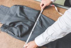 渡り巾の採寸