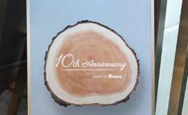 moretrees設立10周年記念イベントに参加しました。
